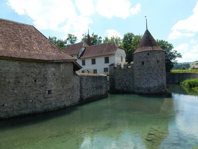Aargau switzerland schlosshallwyl.