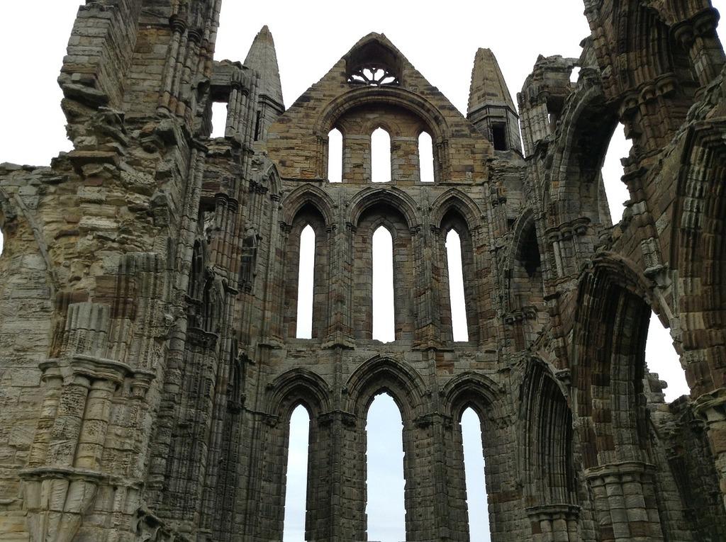 Abbey castle saint, religion.
