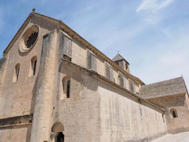 Abbey church church abbaye de sénanque, religion.