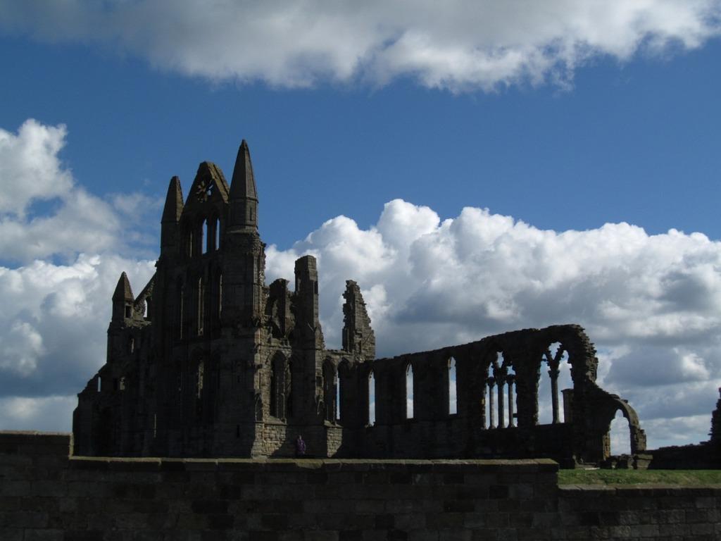 Abbey ruin gothic, religion.