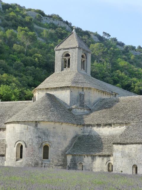 Abbey south france.