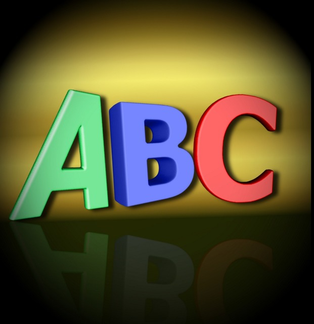 Abc alphabet letters, education.