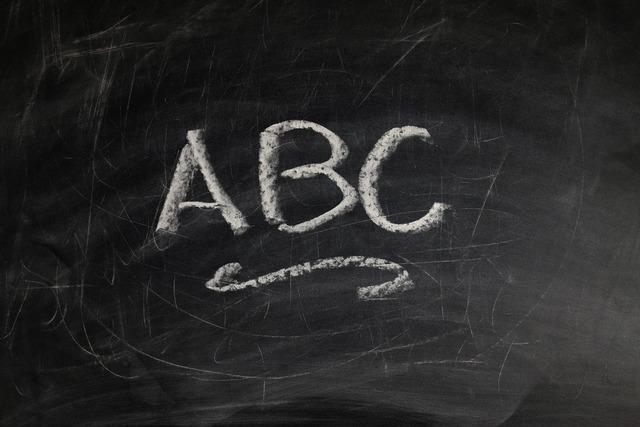 Abc board school, education.