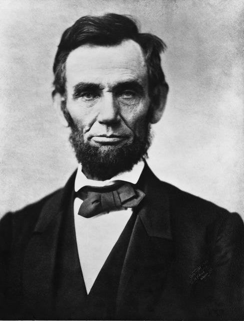 Abraham lincoln president portrait, people.