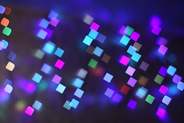 Abstract lights color.