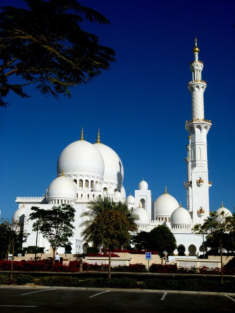 Abudhabi mosque building, architecture buildings.