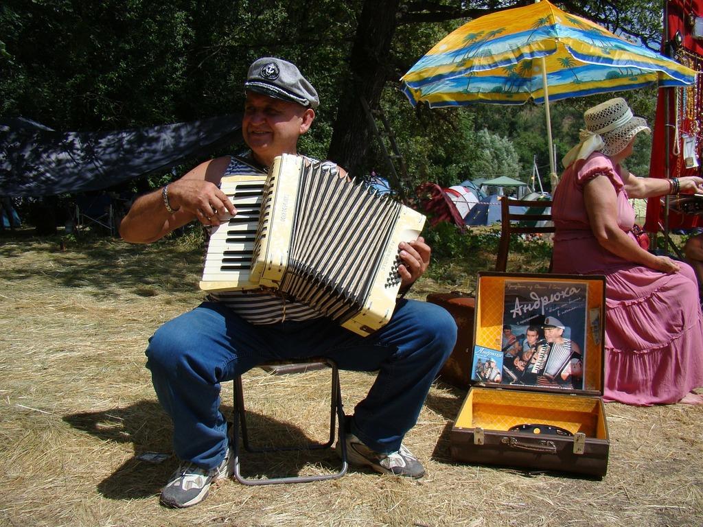 Accordion player man accordion, people.