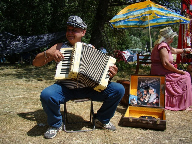 Accordion player man accordion, people.