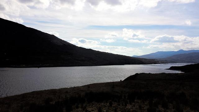 Achill river slope.