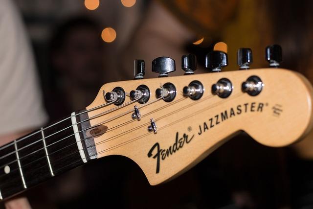Acoustic guitar advertising artist, music.