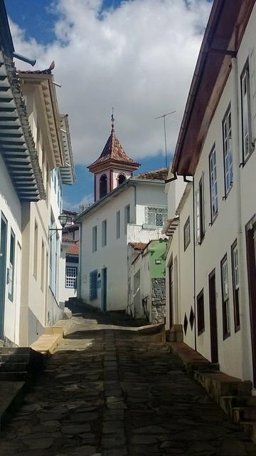 Adamantine minas historic city.