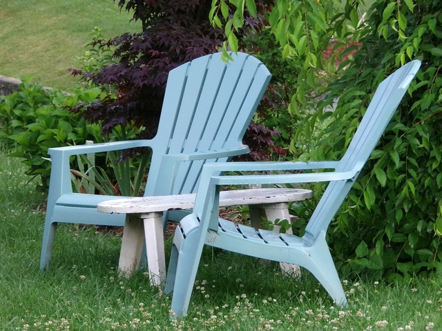 Adirondack chair relaxation, travel vacation.