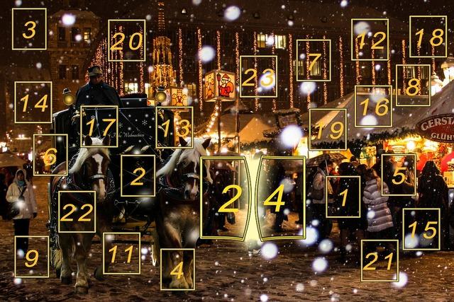 Advent calendar advent christmas time.