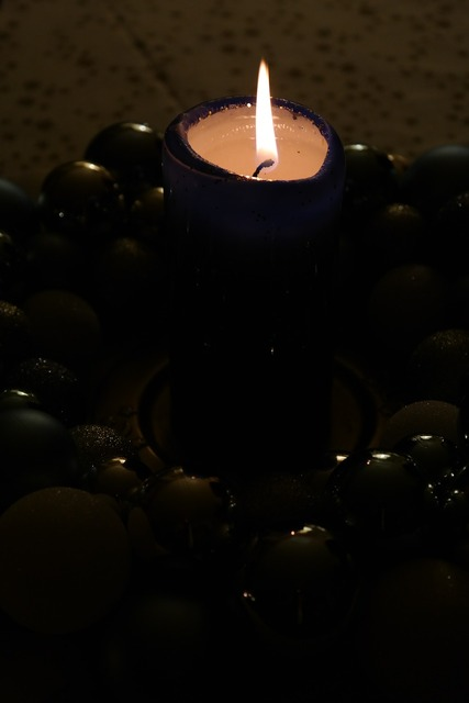Advent wreath candle advent.