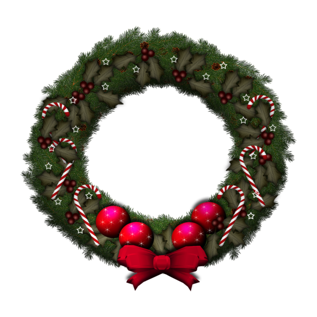 Advent wreath christmas wreath.