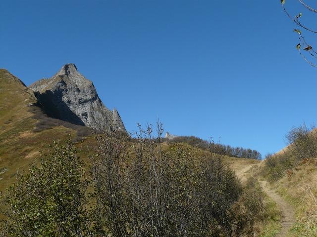 Aelpelesattel höfats east summit, nature landscapes.