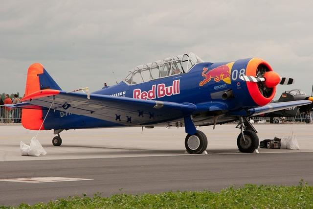 Aerobatics aircraft flugshow.