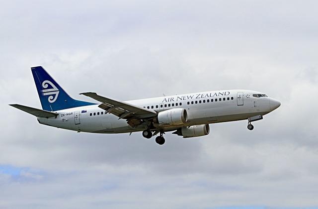 Aeroplane airplane boeing 737.