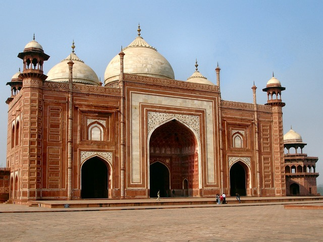 Agra taj mahal india, architecture buildings.