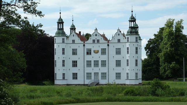 Ahrensburg castle architecture, architecture buildings.