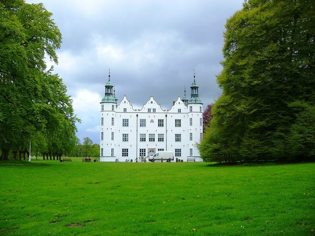 Ahrensburg germany castle, architecture buildings.