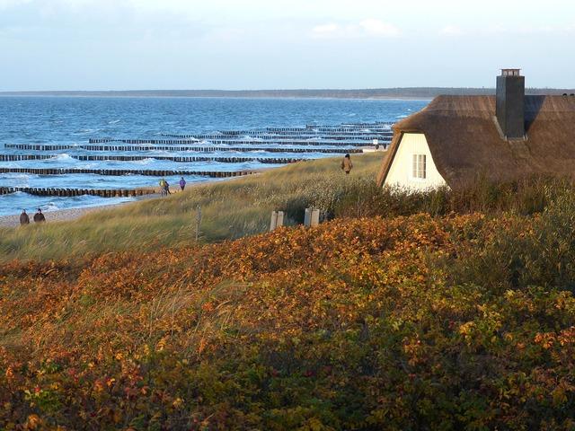 Ahrenshoop zingst baltic sea, travel vacation.