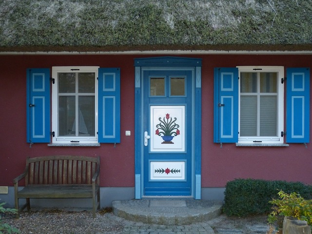 Ahrenshoop zingst home, architecture buildings.