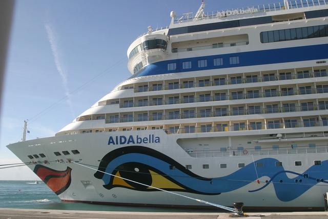 Aida cruise ship port.