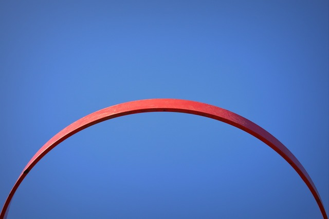 Air blue basketball hoop.