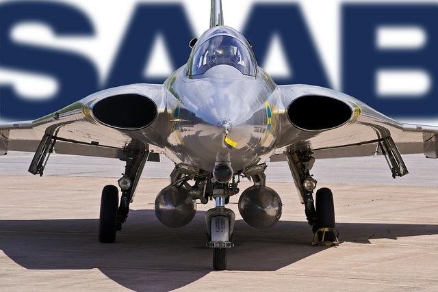 Air force aircraft saab.