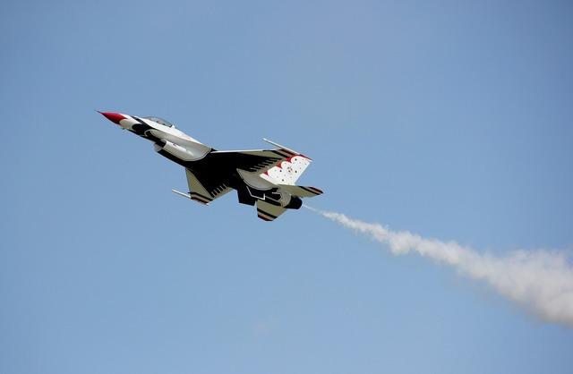 Air force jet aircraft.