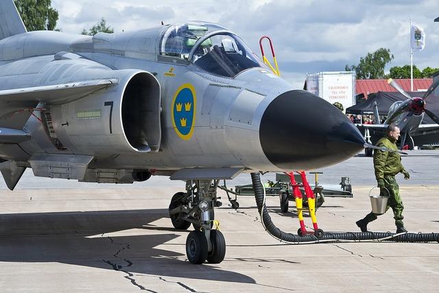 Air force viggen ajs 37.