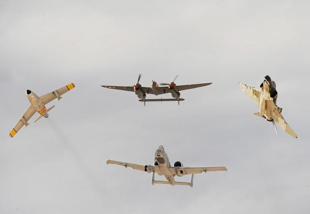 Air show planes military.