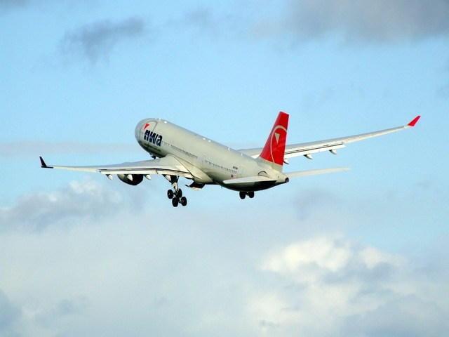 Airbus a330 northwest airlines airplane.