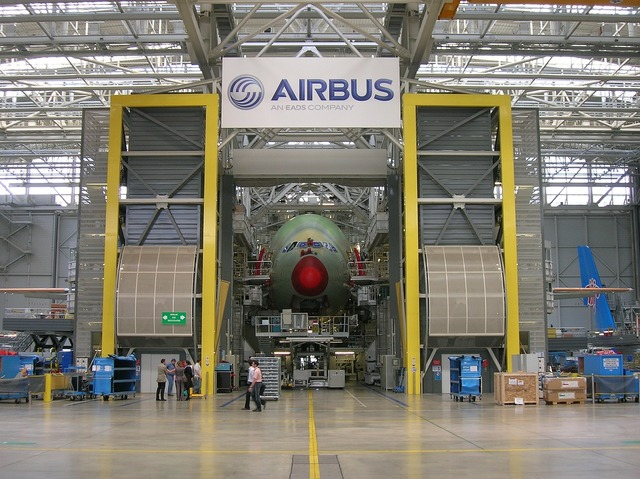 Airbus production completion, science technology.