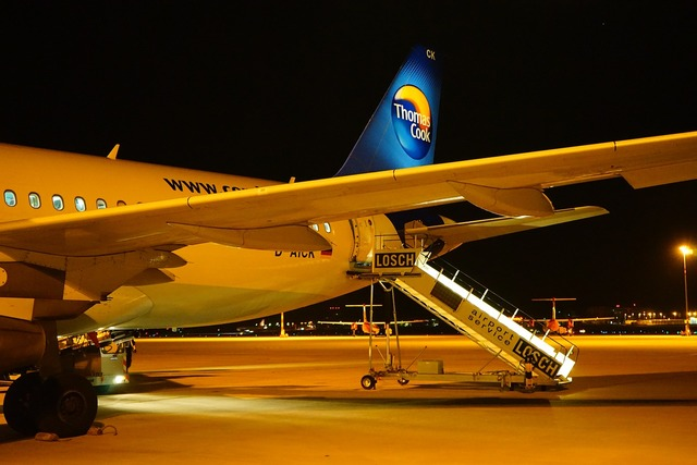 Aircraft airport condor.
