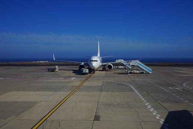 Aircraft airport passenger aircraft.