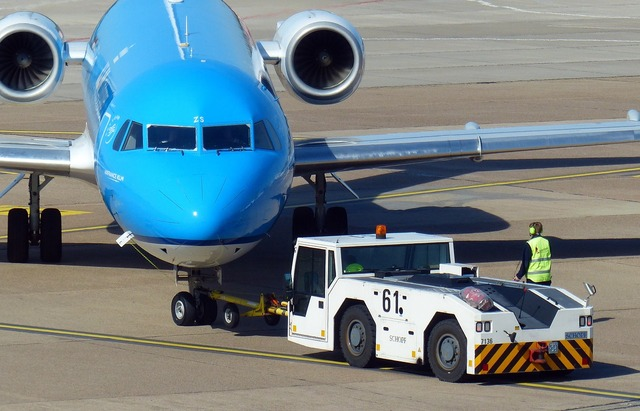 Aircraft airport vehicle, transportation traffic.