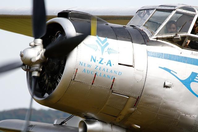 Aircraft antonov oldtimer.