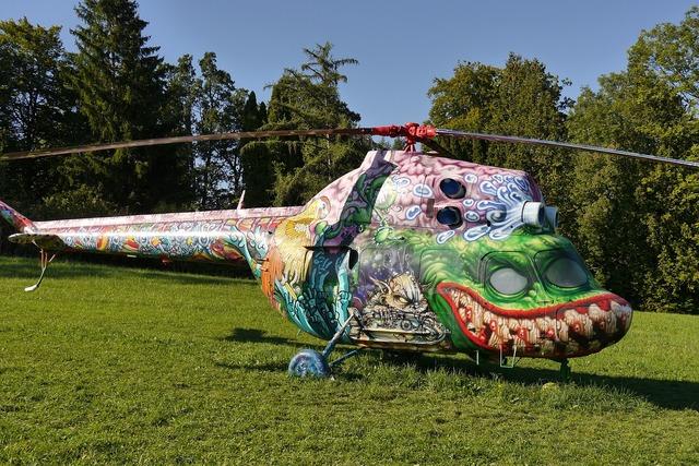 Aircraft dragonfly buchheim museum bernried.