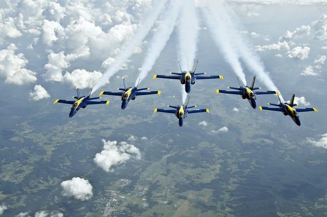 Aircraft flight demonstration squadron.