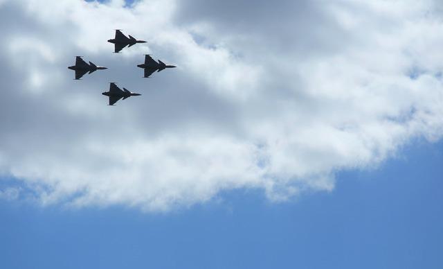 Aircraft jas air force.