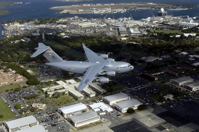 Aircraft jet c-17 globemaster iii.