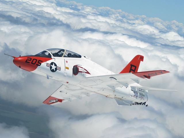 Aircraft jet flyer.