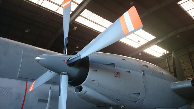 Aircraft military propeller.