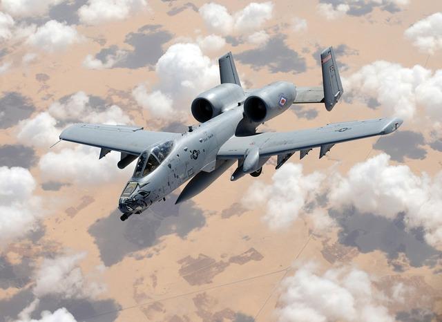Aircraft military thunderbolt.
