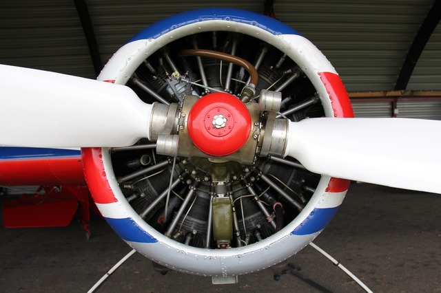 Aircraft motor propeller.