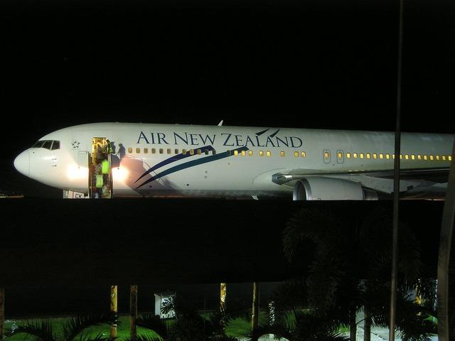 Aircraft new zealand.