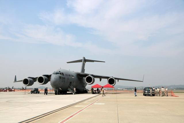 Aircraft plane air force.