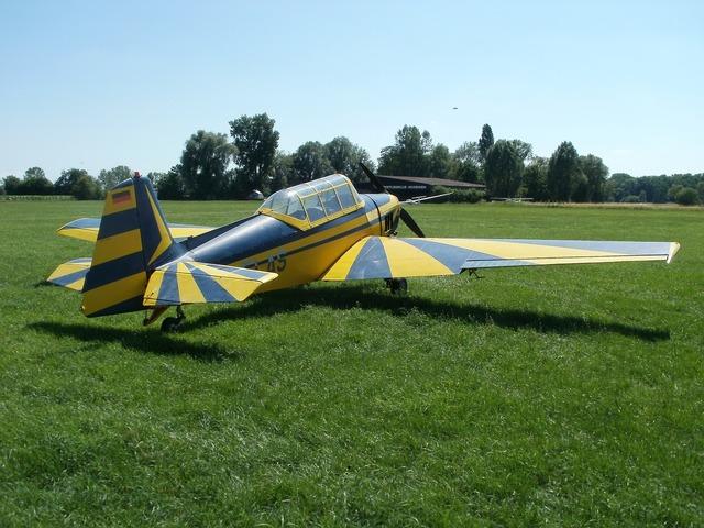 Aircraft plane classic, transportation traffic.